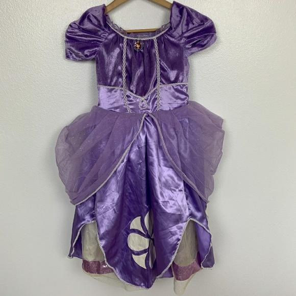 Disney Other - Disney Store Girl Dress Princess Sofia Sz: 7/8